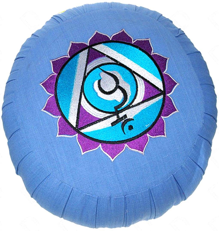 Zafu Bleu Chakra Vishuddha ( 35 cm )