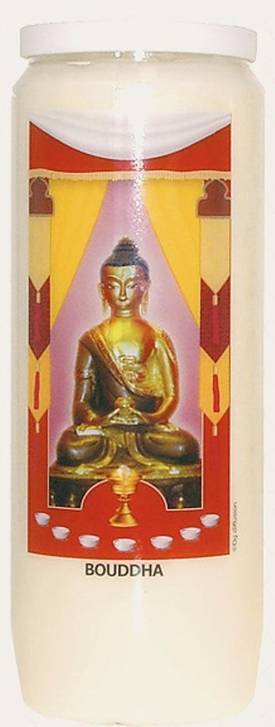 Bougie de Neuvaine ( Bouddha )