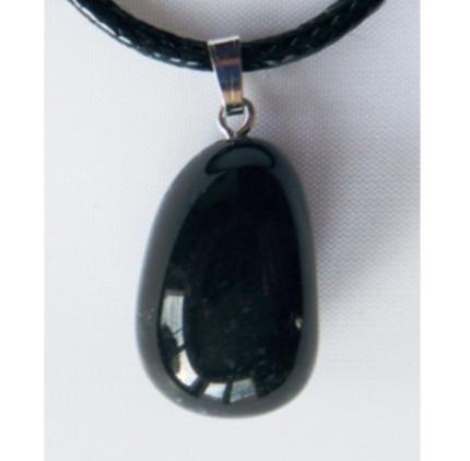 Pendentif - Onyx Noir