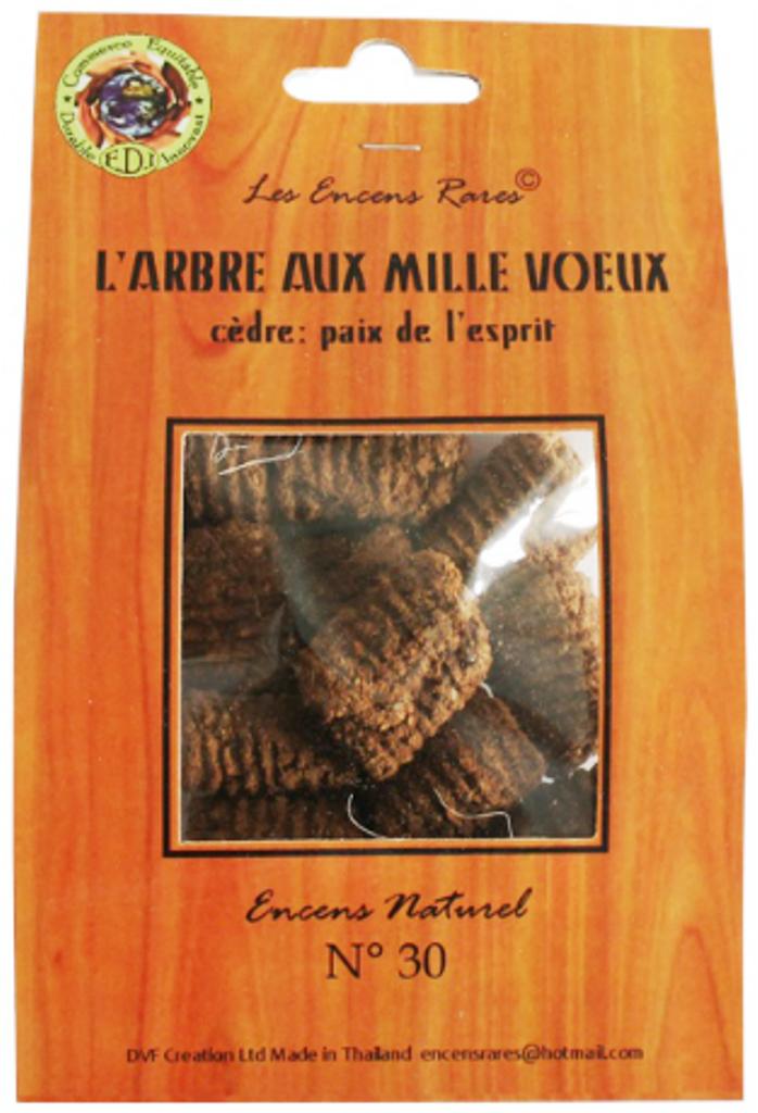 Arbre aux mille voeux - Paix de l\'esprit - (Encens rares 25 gr)