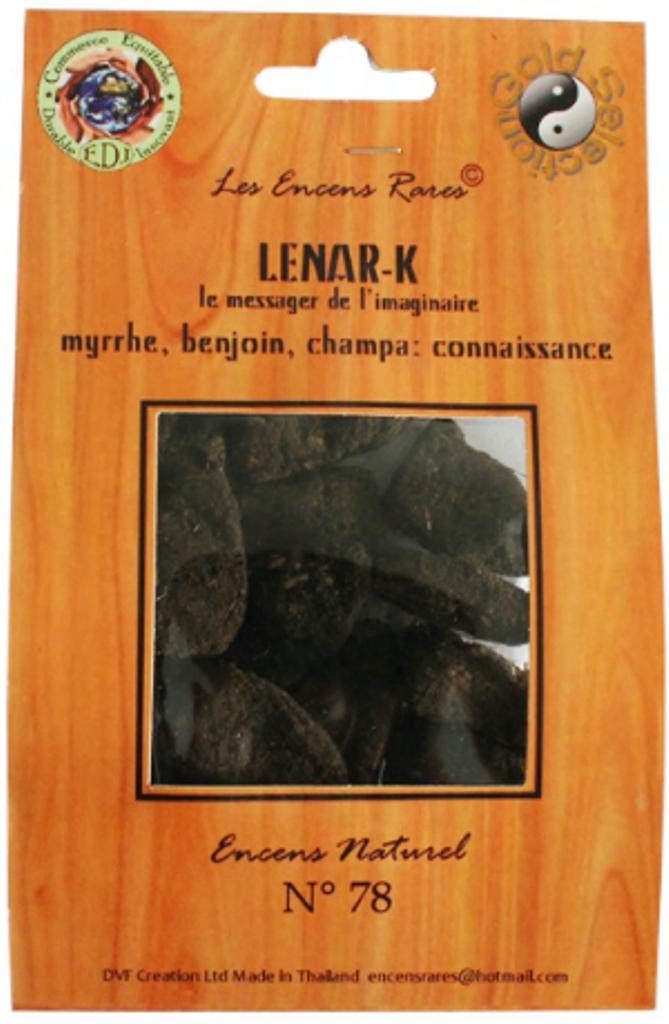 Lenar-K - Connaissance - (Encens rares 25 gr)