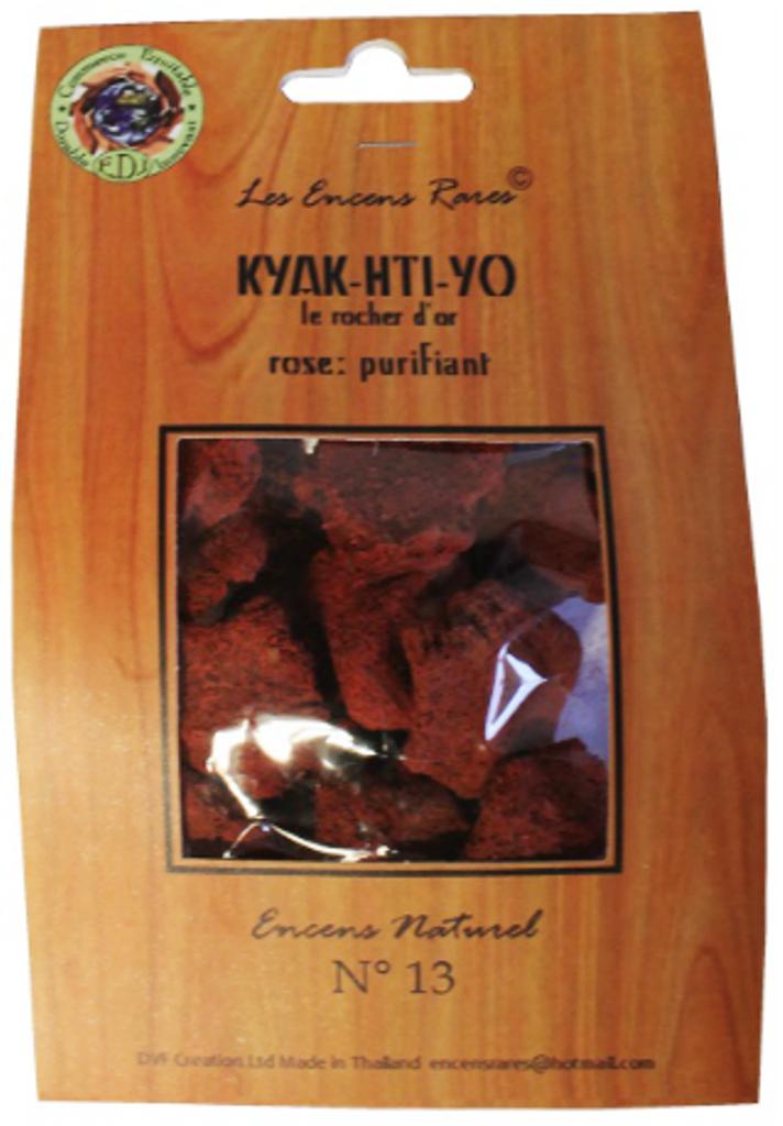 Kyak Hti Yo - Purifiant - (Encens rares 25 gr)