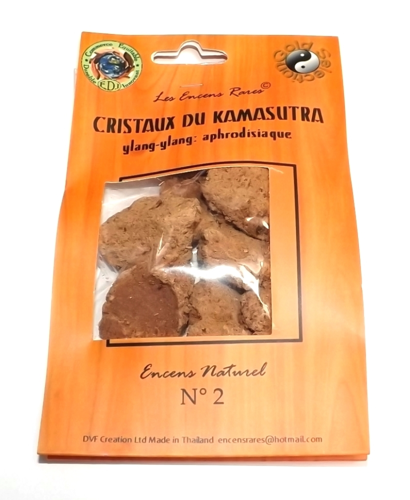 Cristaux Kamasutra - Aphrodisiaque - (Encens rares 25 gr)
