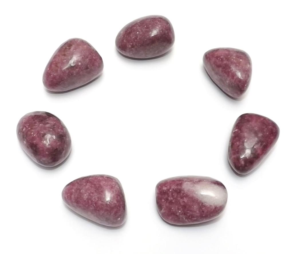Lépidolite pierre roulée ( 3 cm )
