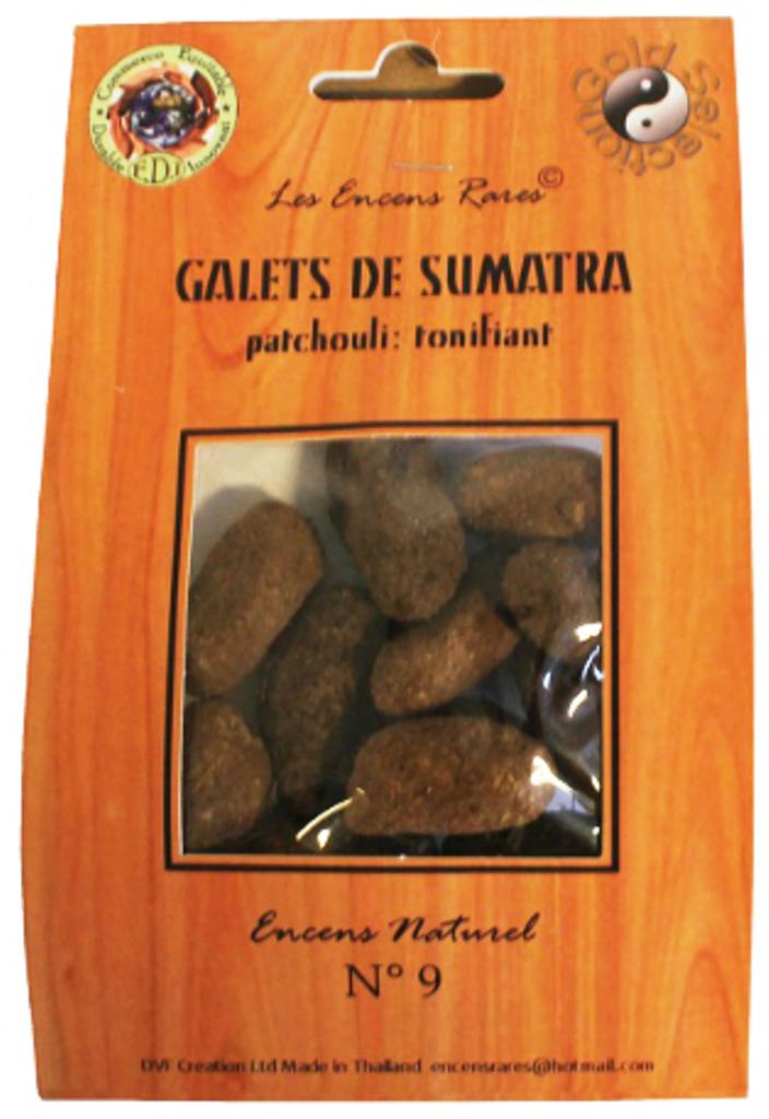 Galets de Sumatra - Tonifiant - (Encens rares 25 gr)