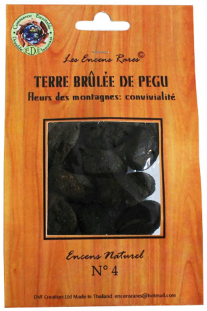Terre brûlée de Pegu - Convivialité - (Encens rares 25 gr)