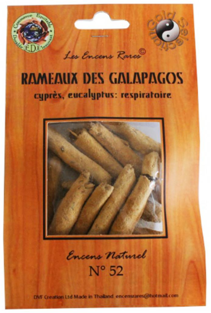 Rameaux Galapagos - Respiratoire - (Encens rares 25 gr)