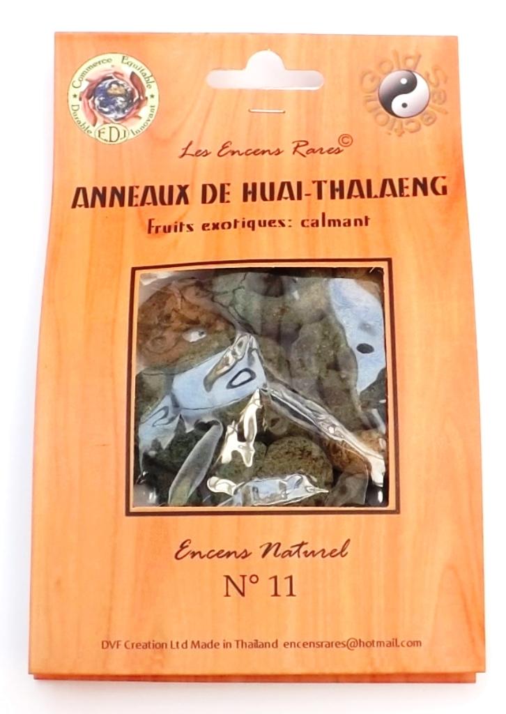 Anneaux de Huai-Thalaeng - Calmant - (Encens rares 25 gr)