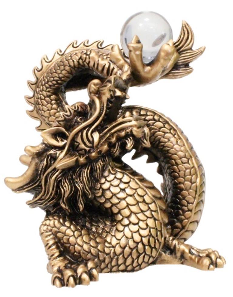 Dragon protecteur Feng-Shui ( 15 cm )