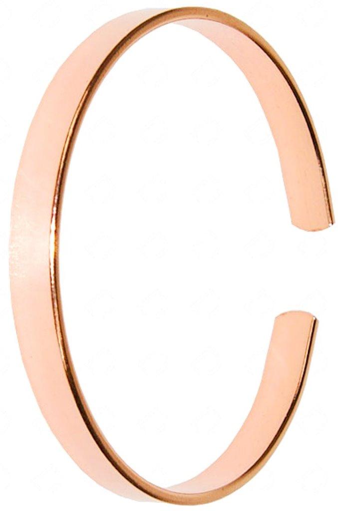 Bracelet Cuivre Plat (6 mm)