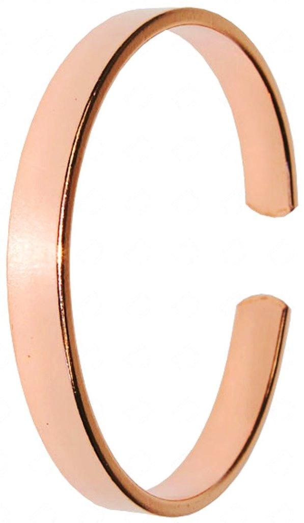 Bracelet Cuivre Plat (8 mm)