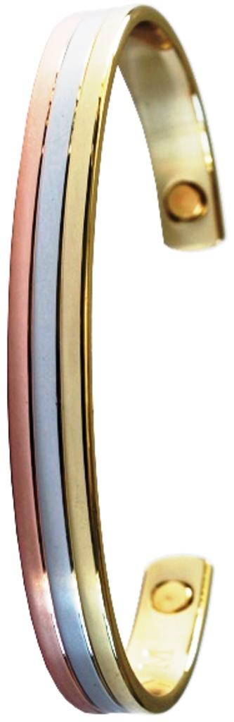 Bracelet 3 Métaux Magnétique ( Copperson )