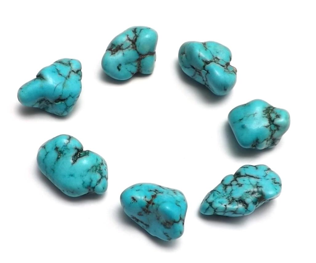 Turquoise du Tibet ( 2 cm )  TUR01 (1)