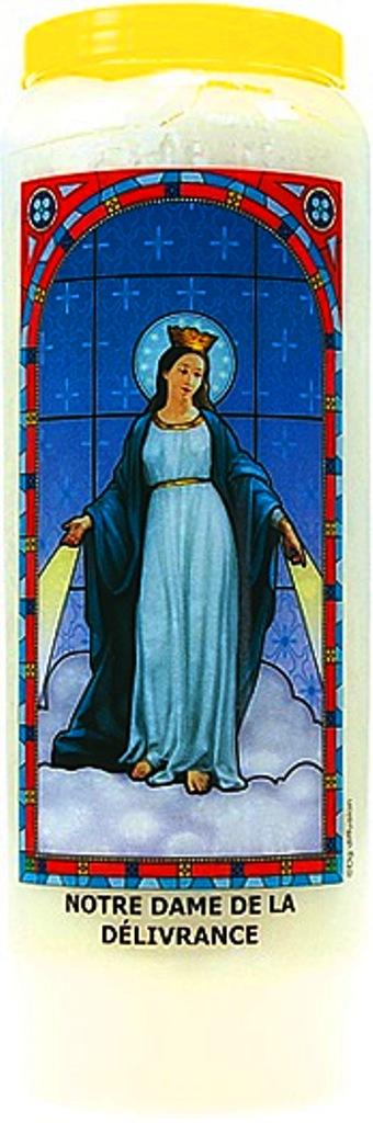 Bougie de Neuvaine ( Notre Dame de la Délivrance )