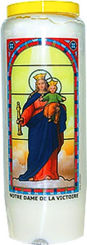 Bougie de Neuvaine ( Notre Dame de la Victoire )  24896