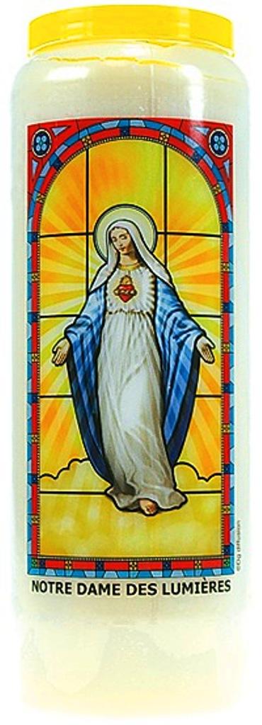 Bougie de Neuvaine ( Notre Dame des Lumières )  24895