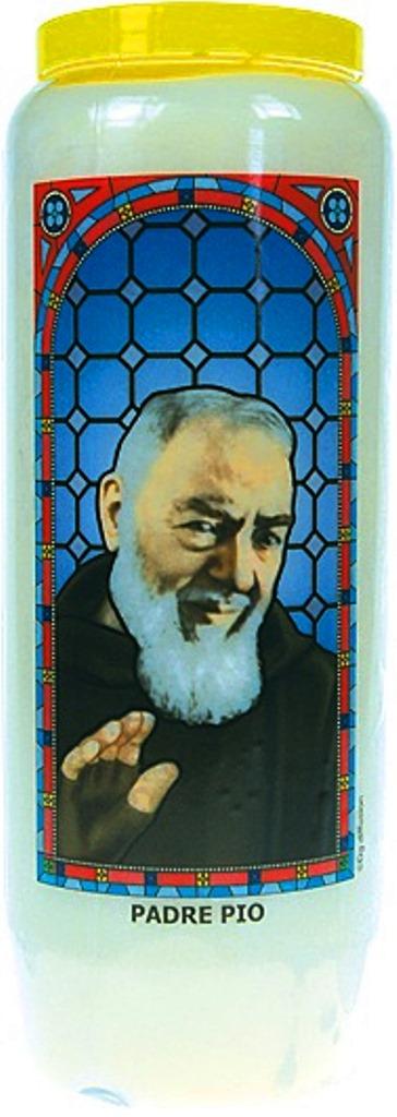 Bougie de Neuvaine ( Padre Pio )