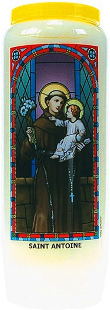 Bougie de Neuvaine ( Saint Antoine )