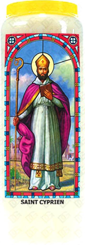 Bougie de Neuvaine ( Saint Cyprien )  29230