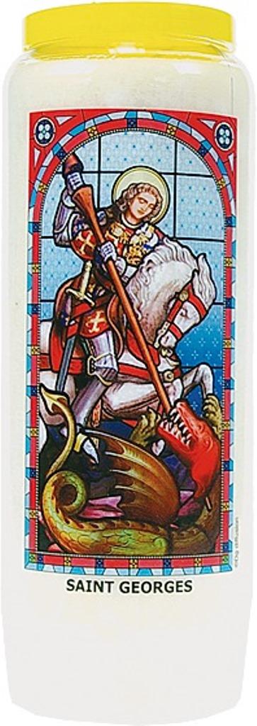 Bougie de Neuvaine ( Saint Georges )  24875
