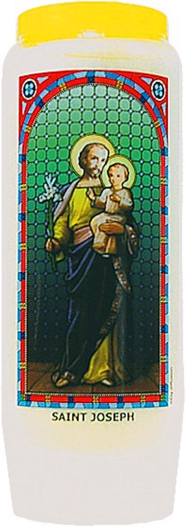 Bougie de Neuvaine ( Saint Joseph )
