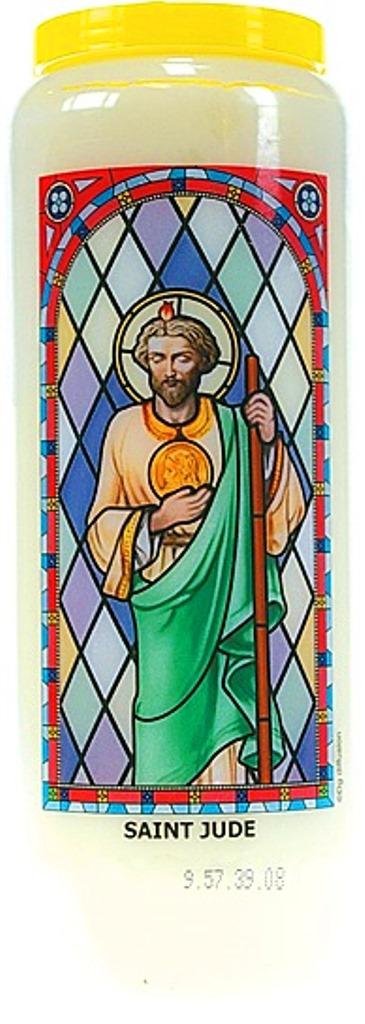 Bougie de Neuvaine ( Saint Jude )