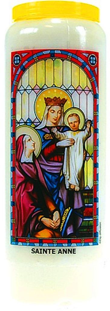 Bougie de Neuvaine ( Sainte Anne )  24872