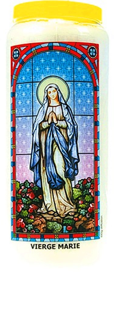 Bougie de Neuvaine ( Vierge Marie )  24868