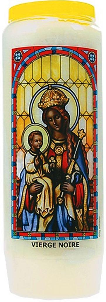 Bougie de Neuvaine ( Vierge Noir )  24886