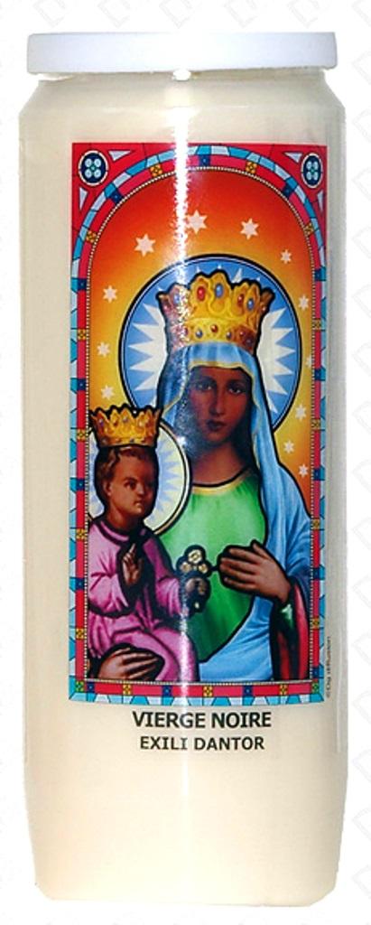 Bougie de Neuvaine ( Vierge Noire - Exili Dantor )  26538