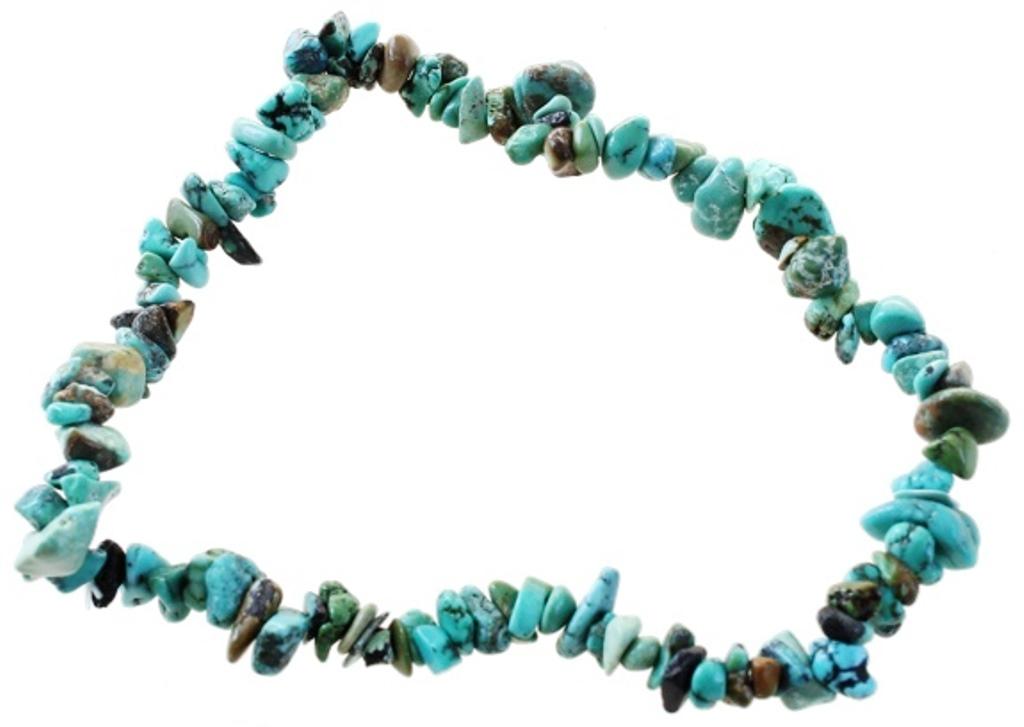 Bracelet Turquoise naturelle ( Baroque )