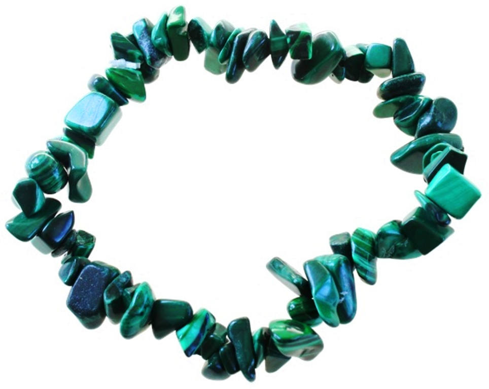 Bracelet Malachite ( Baroque )