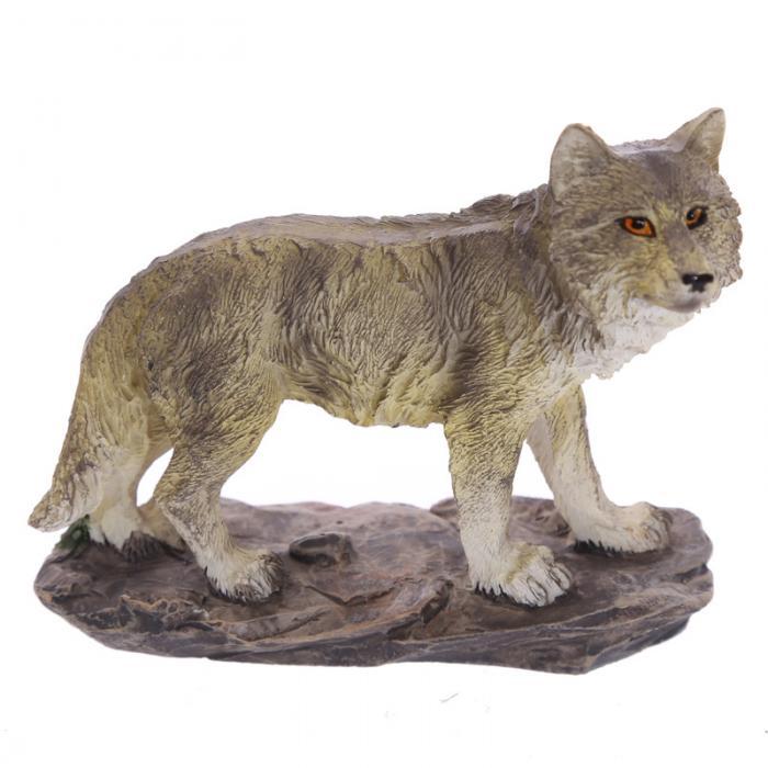Loup figurine 6 à 9 cm (C)
