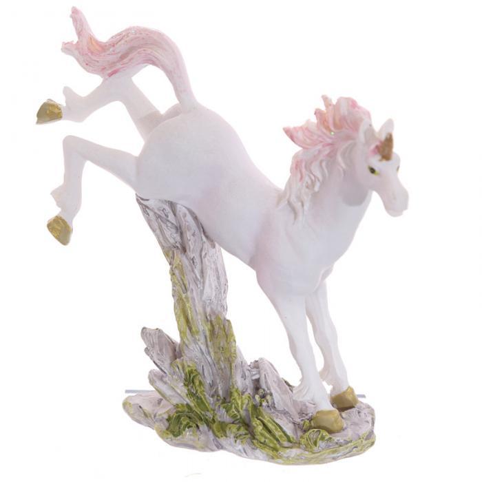 Petite licorne sur rocher, 8 cm (D)