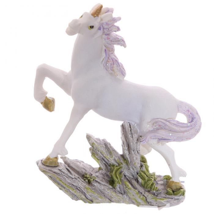 Petite licorne sur rocher, 8 cm (C)