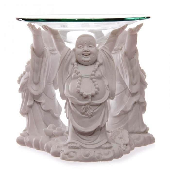 Bouddha Pu-tai Blanc - Brûleur A Huile
