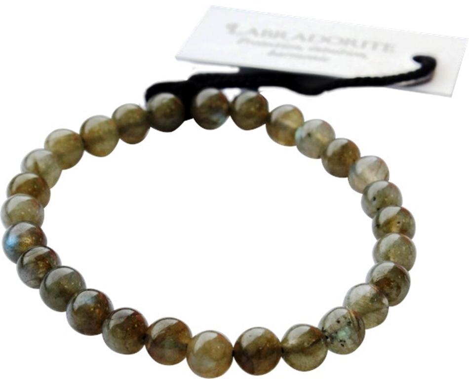 Bracelet Labradorite - Perles Rondes de 6 mm