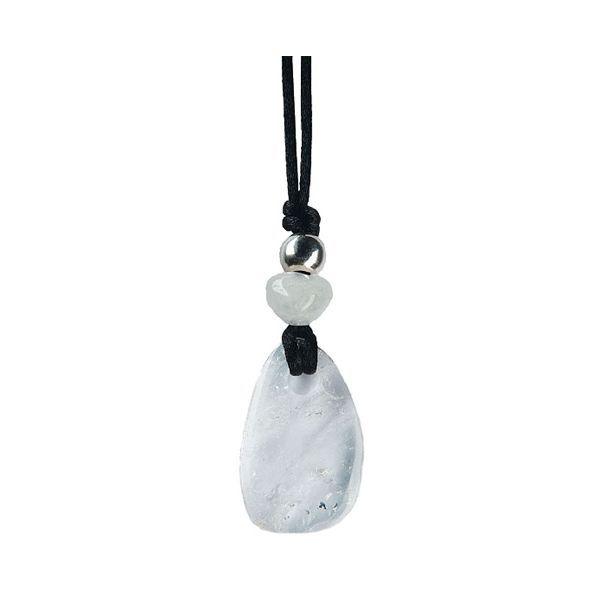 Pendentif Pierre de vertu - Cristal de roche