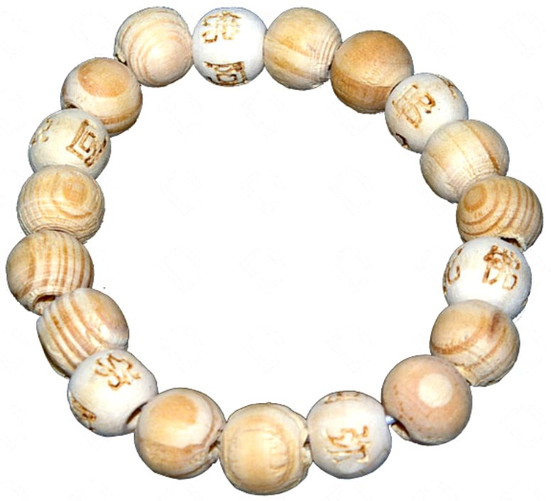 Bracelet karma Chance (Naturel)