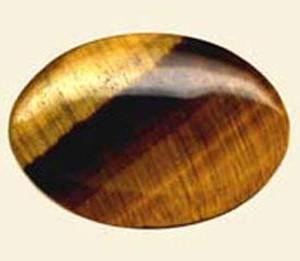 Galet Oeil de Tigre ( 5 x 7 cm )