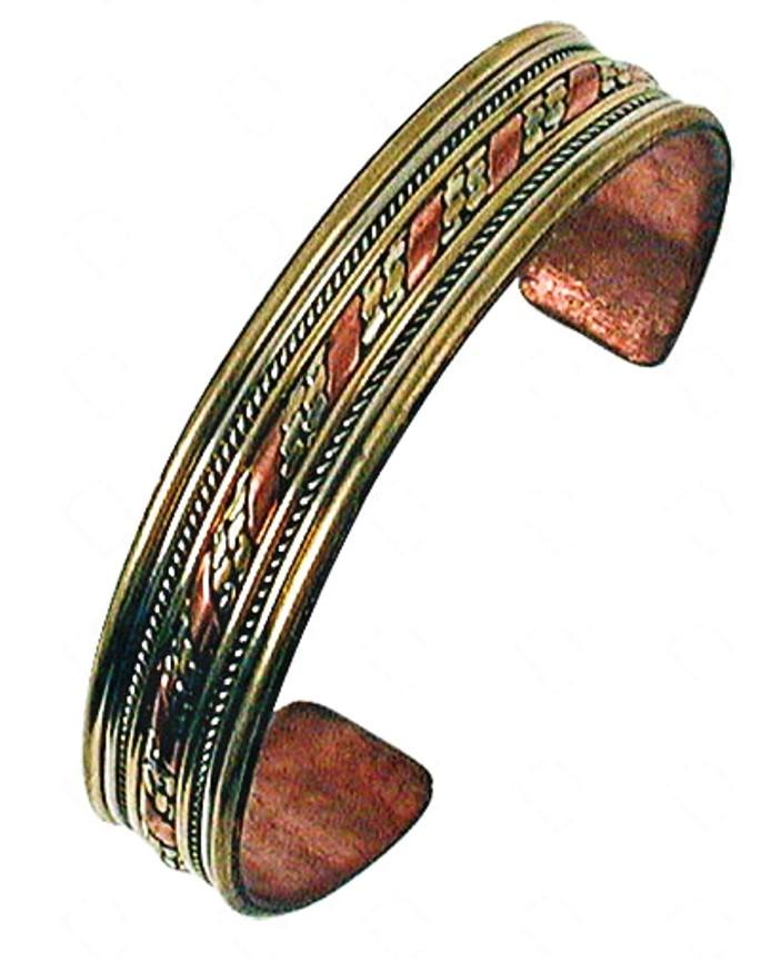 Bracelet Cuivre, Laiton, Métal ( 13 mm )