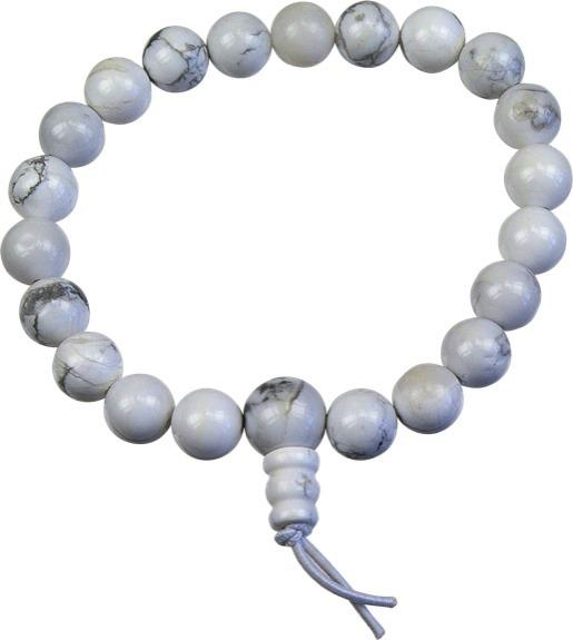 Bracelet mala - Magnésite