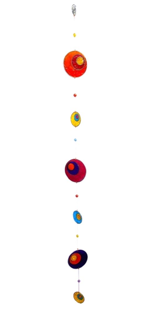 Attrape Soleil - Multicolore Ovales de Paon