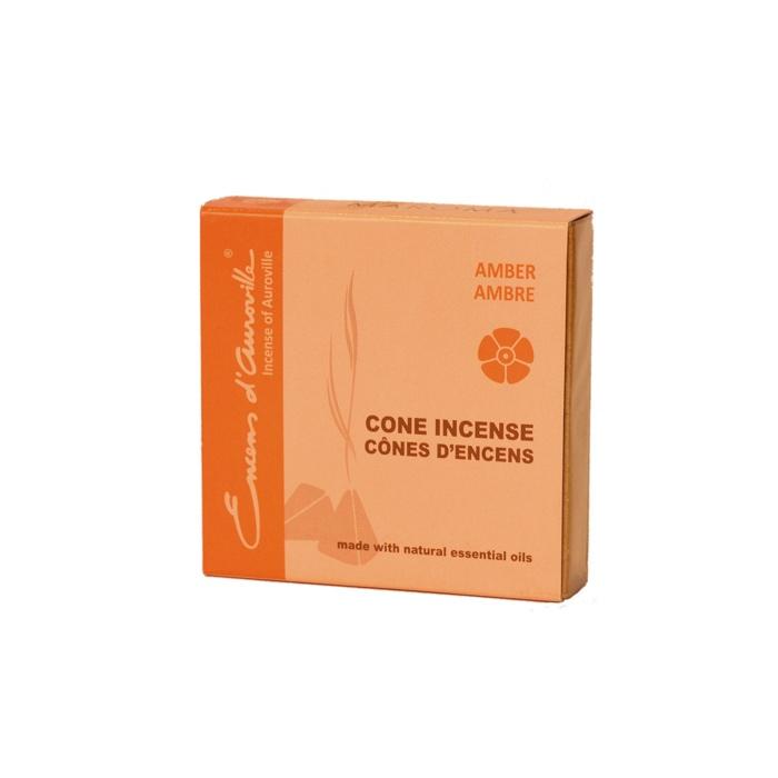 Encens Aroma en cônes ( Ambre )