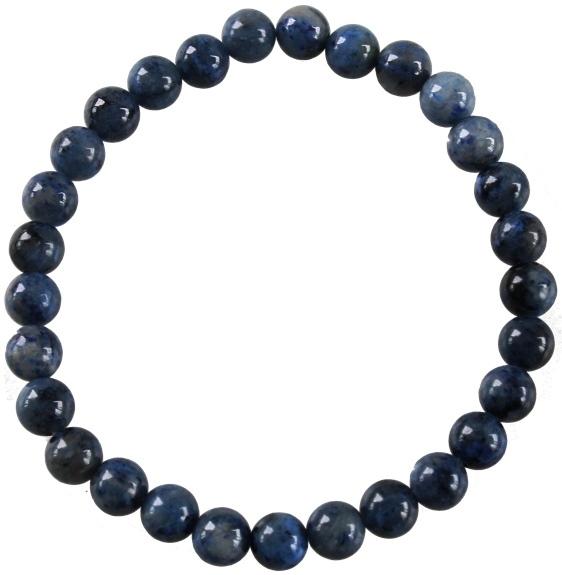 Bracelet Dumortiérite Perles Rondes ( 6 mm )
