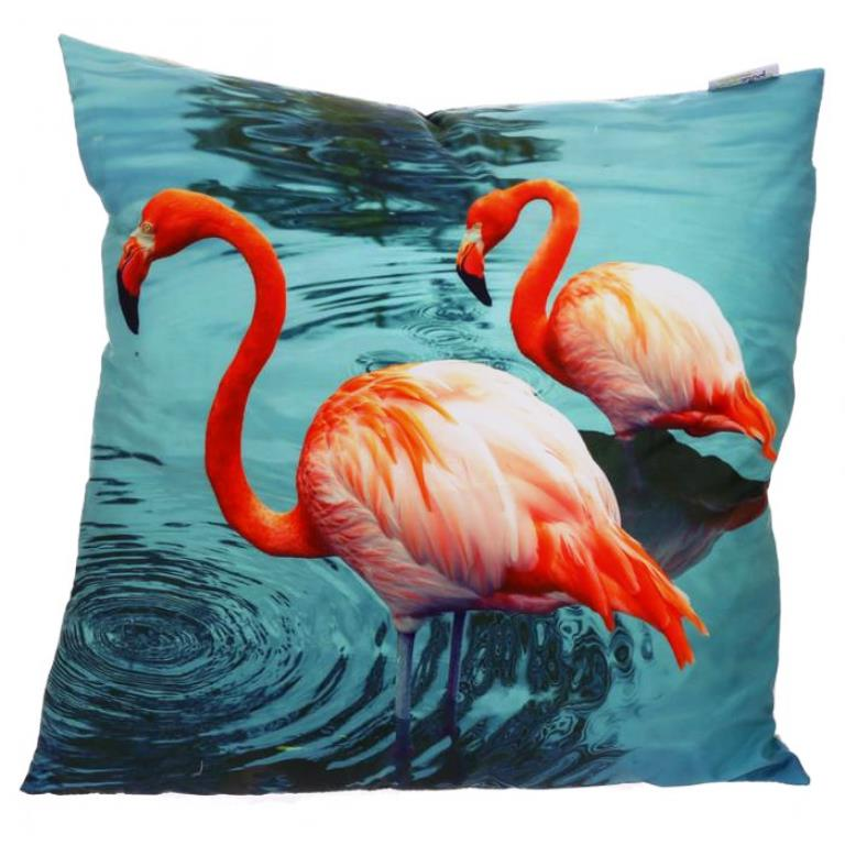 Coussin Flamants Roses (50 x 50cm)