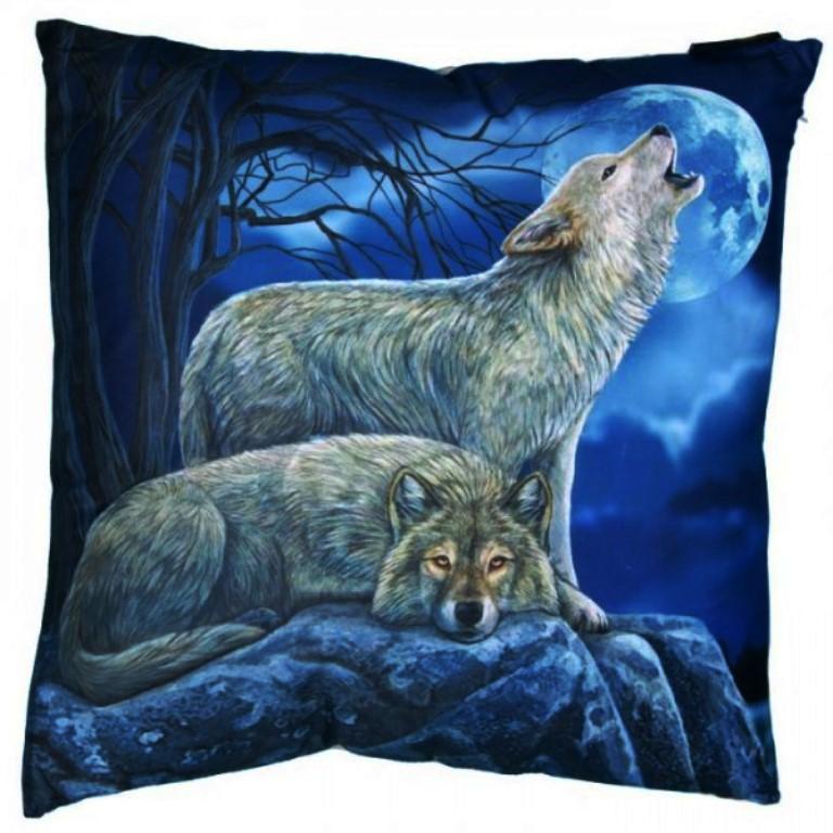 Coussin Loups par Lisa Parker (40 x 40cm)
