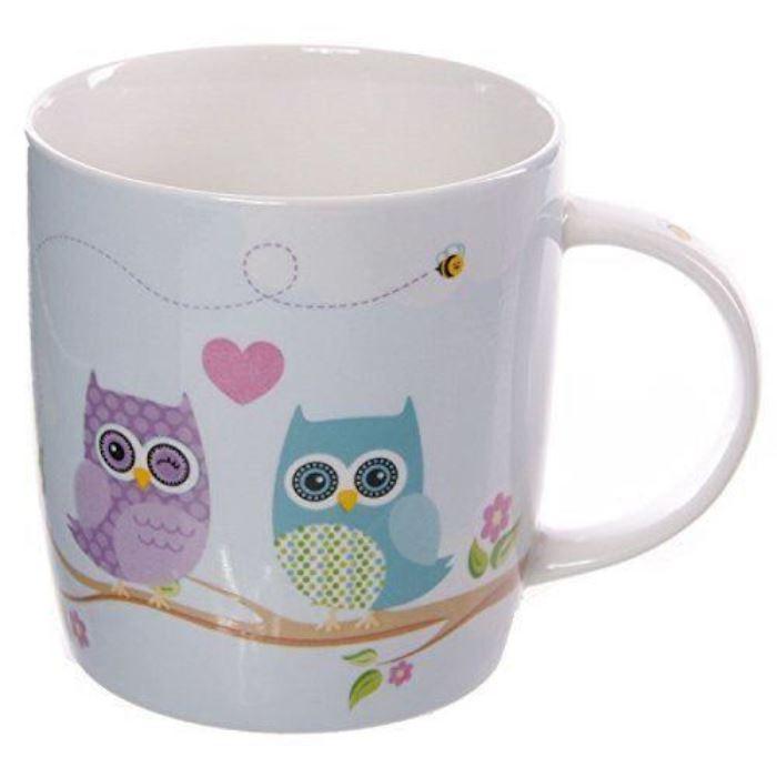 Mug Hiboux Amoureux