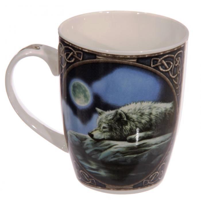Mug Loup sous la Lune (Lisa Parker)