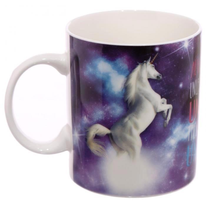 Mug Licorne Univers